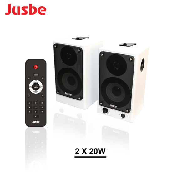 XL-320 New Arrivel IR Remote Control Wireless Bluetooth Bookshelf Speaker pictures & photos