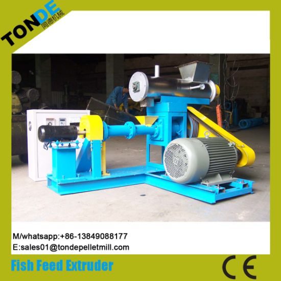 Automatic Ce Fish Pet Dog Feed Pellet Processing Plant pictures & photos