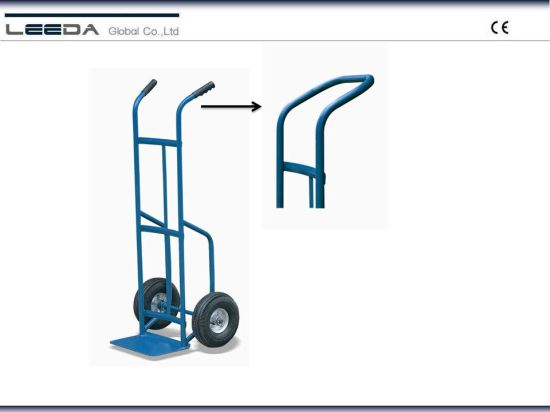 Flow Back Handle Hand Truck (A series) pictures & photos