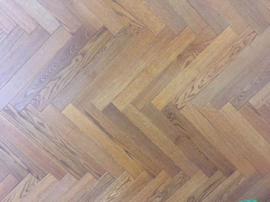 Oak Herringbone Wood Flooring /Parquet Flooring pictures & photos