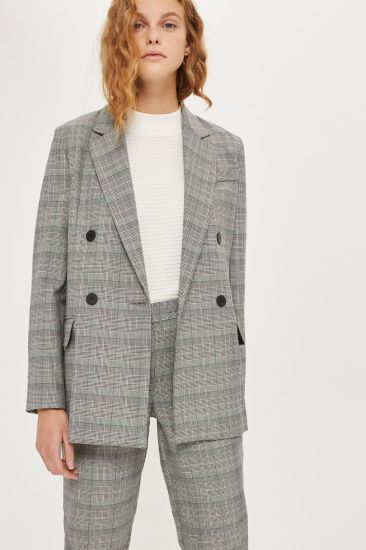 65ed3b72 2017 Customized Designs for Your Own Checked Double Breasted Women Blazer.  Get Latest Price