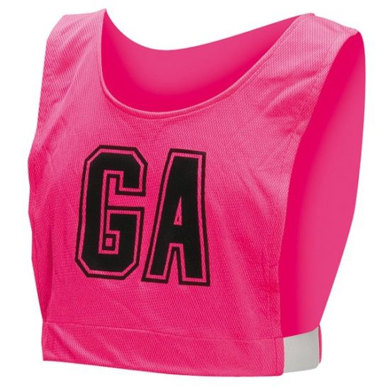 Healong Team Wear Compression Digital Printing A Line Netball Bibs pictures & photos