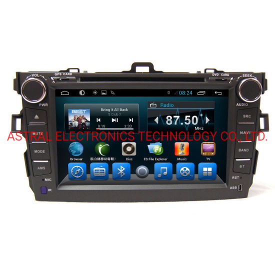 """8.0"""" Car DVD Entertainment System for Toyota Corolla 2007-2011"""