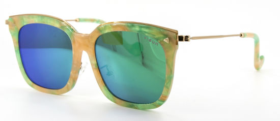 High Quality Colorful Acetate Fashion Style Sunglasses pictures & photos