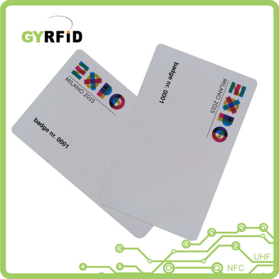 Gold Card NFC Business Cards for Attendance System (ISO) pictures & photos