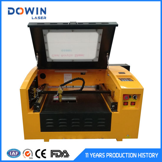 China Factory Sale Cheap Mini Laser Engraver Machine CO2 CNC 40W for Wood Engraving