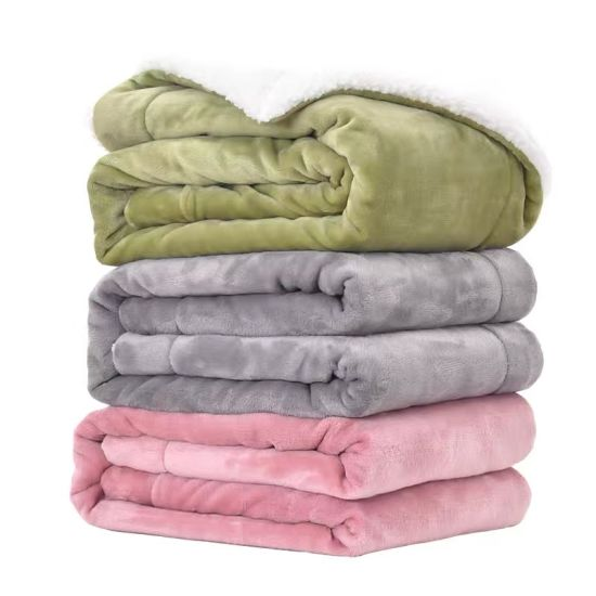 Flannel Blanket Quilt Single Student Plush Sheets Double Warm Winter Coral Blanket