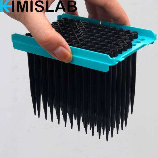 50UL 200UL 1000UL Sterile Conductive Black Tecan Pipette Tips for China Supplier