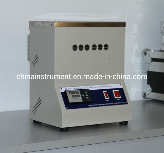 China Astm D2265 Grease Dropping Point Apparatus For Dropping Point Of Lubricating Grease Experiment China Dropping Point Tester Grease Dropping Point Tester