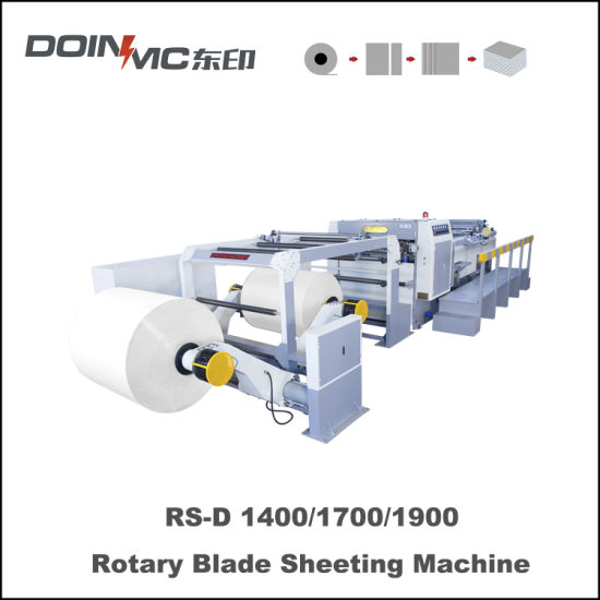 Automatic Cylinder Cross-Cut Sheeting Machine
