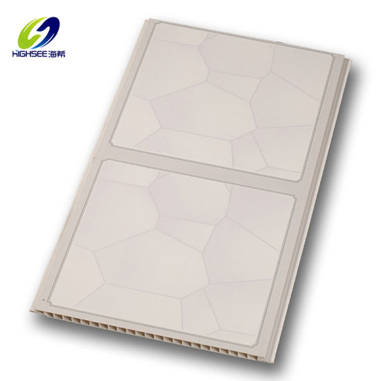 30cm 2020 New Design Hot Stamping PVC Ceiling Panel Plastic Board