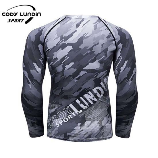 Top Quality Compression Bjj O-Neck Rashguard MMA T-Shirts for Men