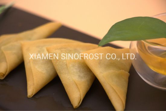Delicious Vegetable Samosa,Frozen Vegetable Samosa,Spring Roll,Sesame Ball,Pumpkin Cake,Taro Cake,Taro Pastry,Taro Ball,Dim Sum,Asian Food,Party Food,Snacks