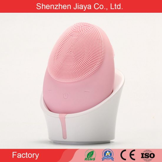 Korean Professional Skin Care Best Facial Cleansing Brush Electric Silicone Face Brush