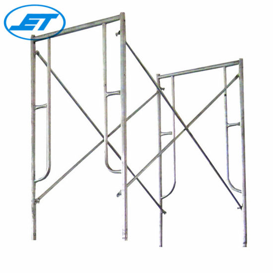 DIP Painted Supporting and Walk Through Frame Scaffolding (Real Factory in Guangzhou)