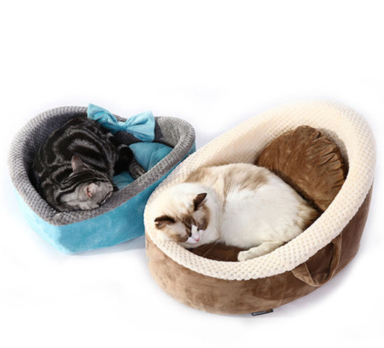 Comfortable and Warm Pet Dog Cat Sleeping and Rest Bed Mesh and Spongy Cat Rest Cushion Supply