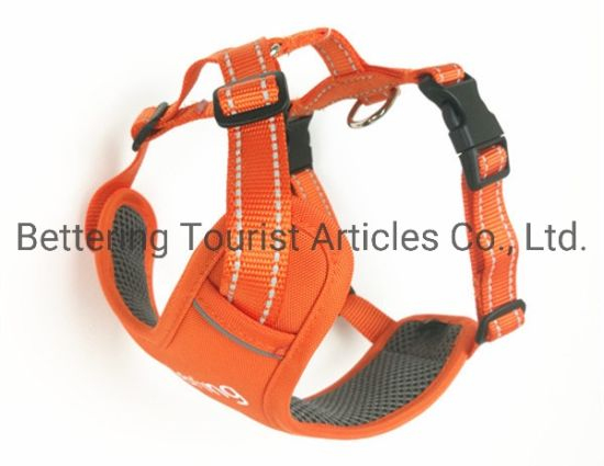 Customized Logo Polyester Dog Outdoor Harness