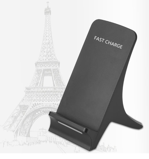 Fast Wireless Charging Stand Qi Wireless Charger for iPhone 8 iPhone 7