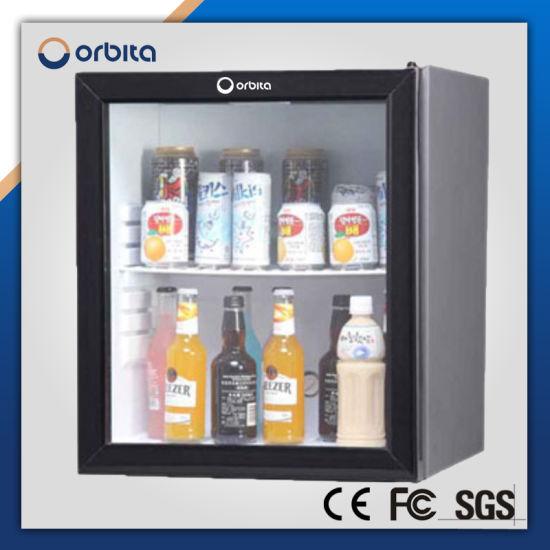 China Orbita 60 Liter Glass Door Mini Fridge For Hotel Room China