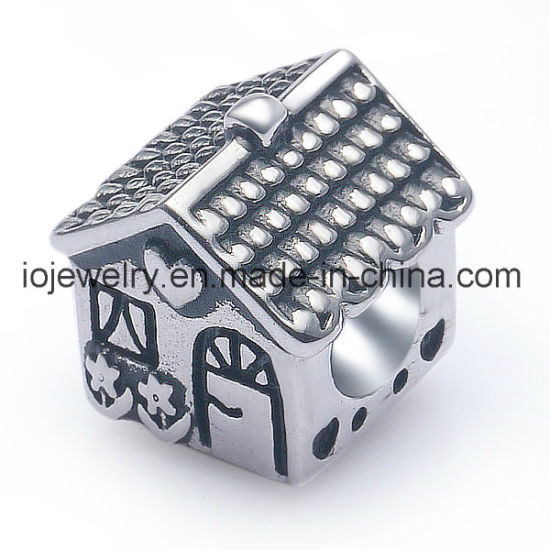 Pet's Jewelry Lovely Dog House Bead Charm