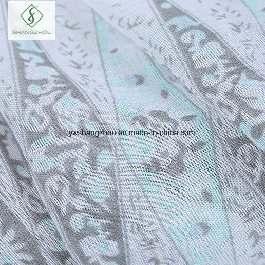 2017 New Design Geometric Printed Viscose Shawl Fashion Lady Scarf Factory pictures & photos
