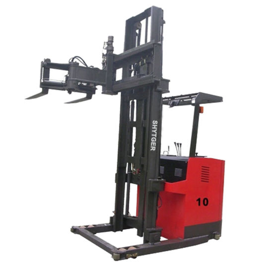 Hot Selling Forklift with Narrow Aisle Electric Stacker 1 Ton