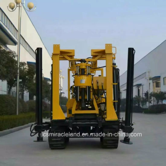 Crawler Mobile Hydraulic Water Well Drilling Rig (YZJ-200Y) pictures & photos