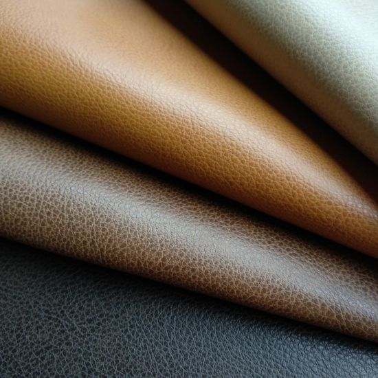 Genuine Leather Touch Feel PU Faux Leather with Free DMF-Accelerate