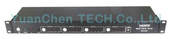 4X4 HDMI Matrix Switcher with Remote Control pictures & photos