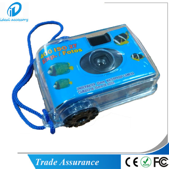 Hot Sale Cheap Disposable Waterproof Single Use Camera with FUJI Film pictures & photos