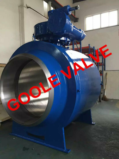 Forged Steel Fully Welded Ball Valve (GAQ61/7PPL) pictures & photos