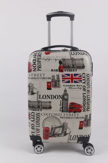 OEM High Quality Luggage ABS/PC Trolley Suitcase 3 Set