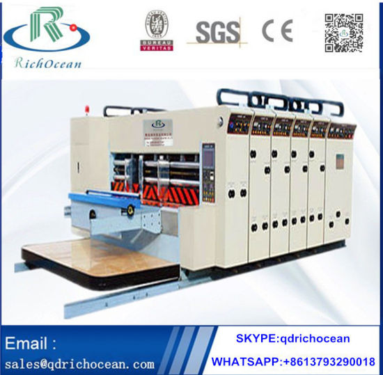 Automatic High Speed Corrugated Paperboard Printing Machine