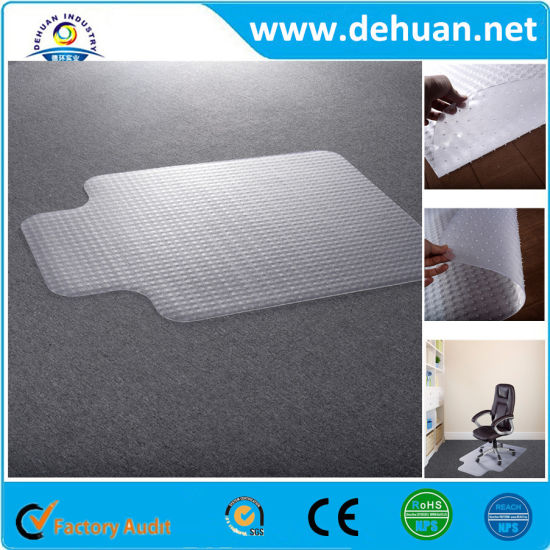 Anti-Slip PVC Coil Mat / Floor Mat for Office Chairs pictures & photos