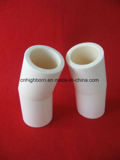 Zta Zirconia Toughened Alumina Ceramic Tube with Wearability Resistance pictures & photos