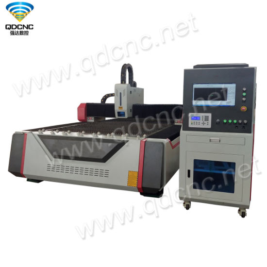 Laser Metal Cutting Machine with Fiber Qd-M1325FL