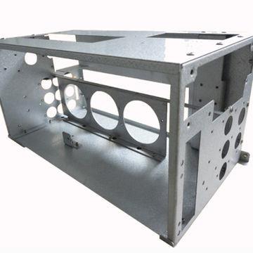 Custom Metal Cabinet and Enclosure Sheet Metal Fabrication Aluminum Stainless Steel Laser Cutting Welding Service Custom Sheet Metal Fabrication