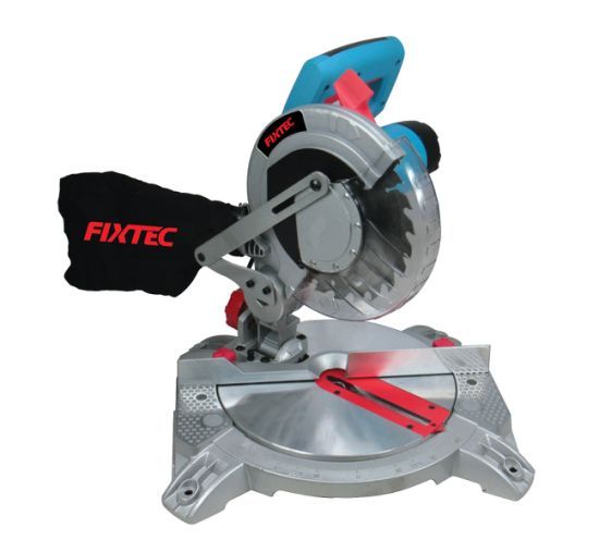 Fixtec Power Tool Cutting Saw Machine 1400W Double Head Mitre Saw Cutting Machine