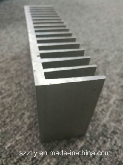6063t5/T6 Machined Aluminum/Aluminium Extruded Heat Sink pictures & photos