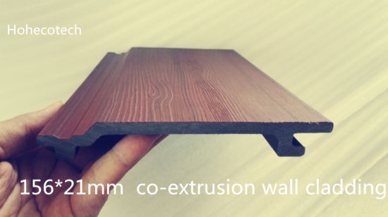 WPC Co-Extrusion Wall Panel Outdoor Wood Plastic Composite Wall Cladding Exterior Decorative Building Facades