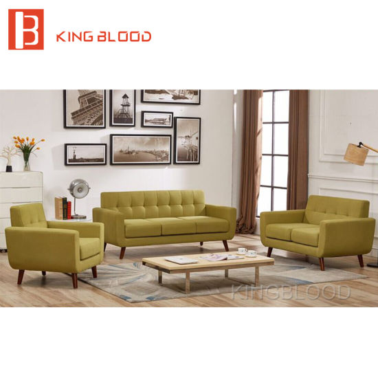Simple Fabric Sofa Sets Design For Drawing Room With Japanese Style
