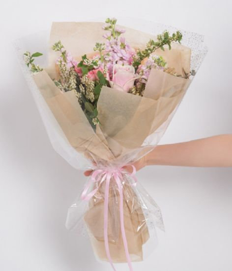 Sydney Korean Style Flower Rose Bouquet Wrapping Packaging Roll Paper