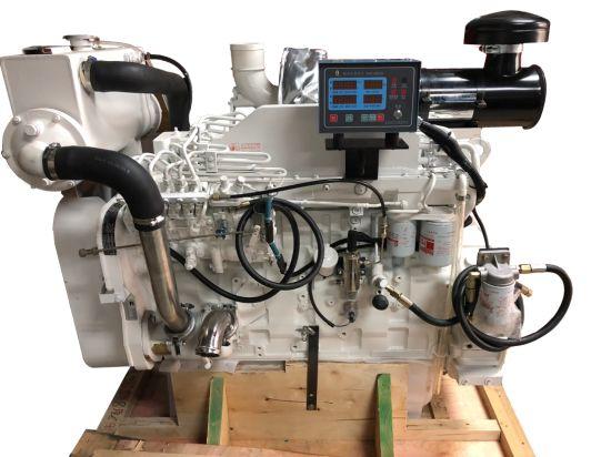 Original 138kw 6 Cylinders Water Cooling Cummins Marine Diesel Engine (6CTA8.3-M188)