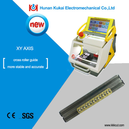 China High Security Fully Automatic Widely Used Key Code Cutting Machine  Sec-E9 Duplicate Car Key Cutting Machine Key Copy Machine