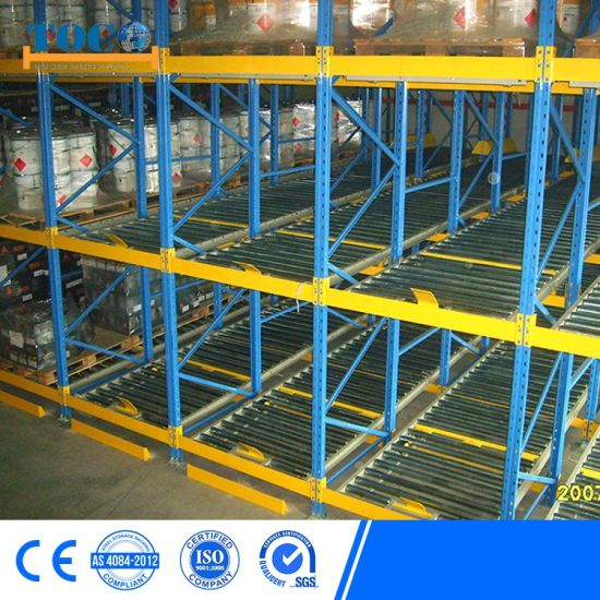 Top Supplier Competitive Flow Through Rack for Coolroom Paper Rolls