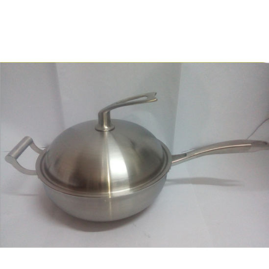 Germany Design Triply Stainless Steel Non-Stick Similar Amc Cookware Price pictures & photos