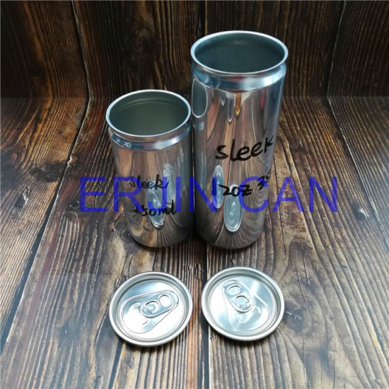 Aluminum Can Sleek Slick Fit Slim Stubby Standard 250ml 8.3oz 8.4oz 12oz 355ml Can for Energy Drink