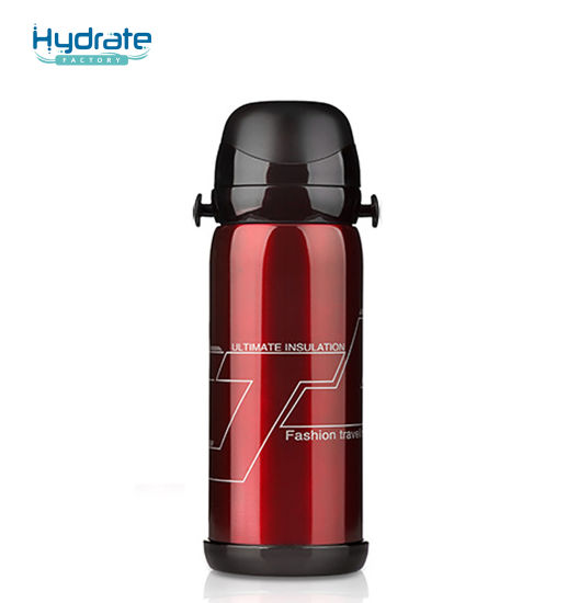 28oz Hiking Stainless Steel 18/8 Vacuum Insulated Flask Sports Bottle with Handle
