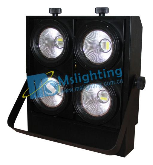 4*100W W/a/Aw/Ww/RGB/RGBW/RGBWA/Rgbwau COB LED Blinder Light LED Audience Light LED Stage Light