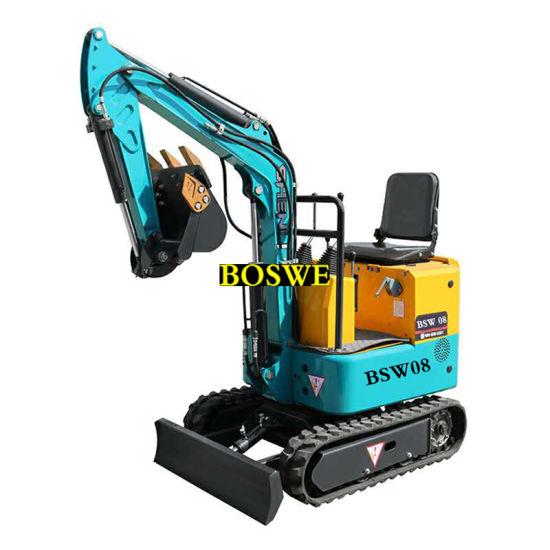 Cheap 2 Ton Mini Hydraulic Crawler Excavator for Sale